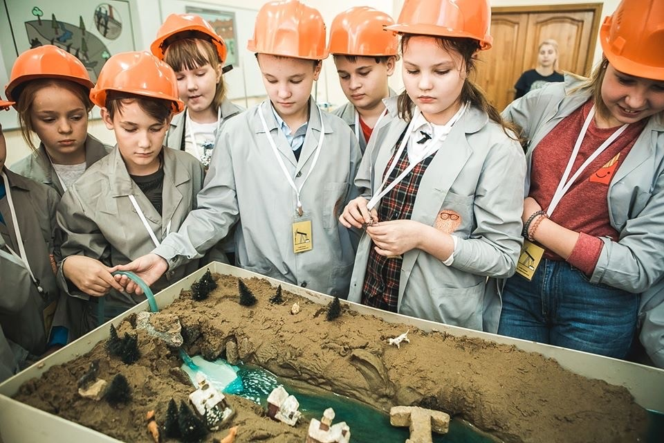 Детская научная программа «Геология»